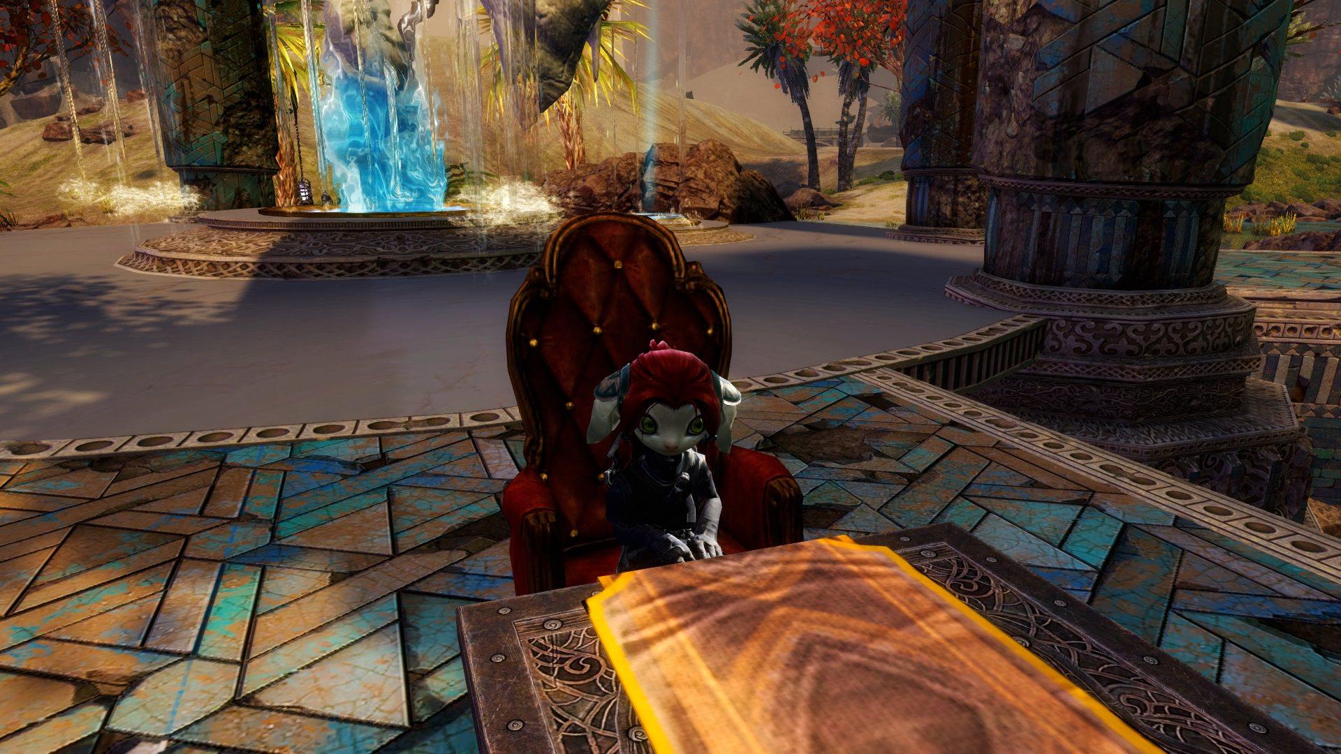 Wir dürfen in Guild Wars 2 endlich sitzen, aber nur mit Sprachverbot