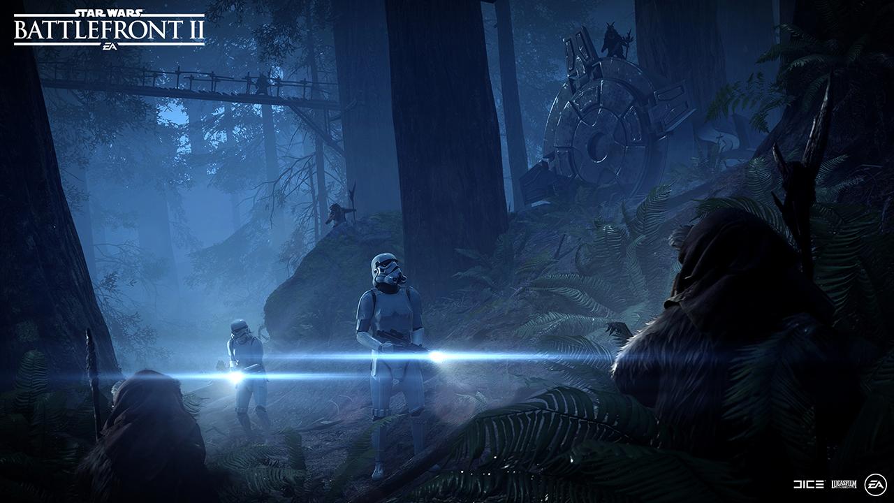 Battlefront 2: Nacht auf Endor ist live und Fans lieben die Ewok-Jagd