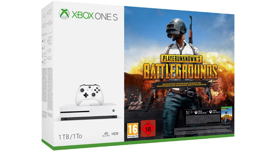 Saturn Weekend-Deals: Xbox One S im Bundle mit PUBG – ausgewählte Spiele reduziert
