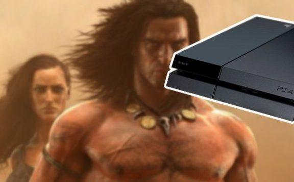 Conan-Exiles mit PS4 Titel cut