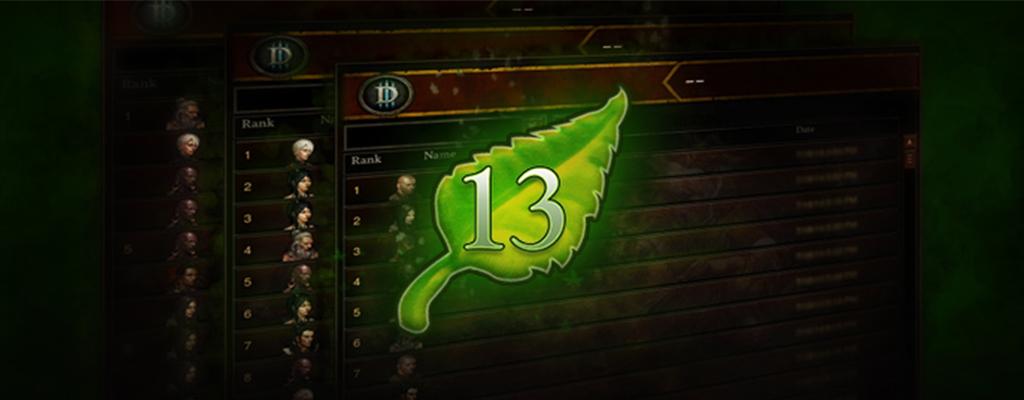 Diablo 3: Season 14 startet bald, wenige Tage bis zum Season 13-Ende