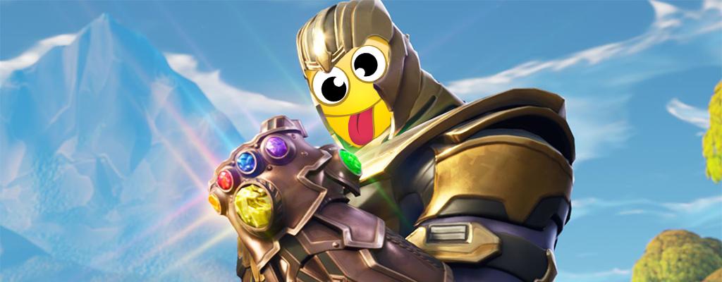 Alberne Fortnite-Emotes machen Superbösewicht Thanos zur Witzfigur