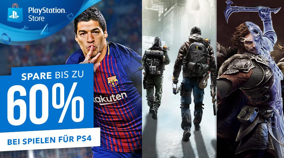 Neuer PS Store Sale – Bis zu 60% Rabatt auf einige richtig gute PS4-Games