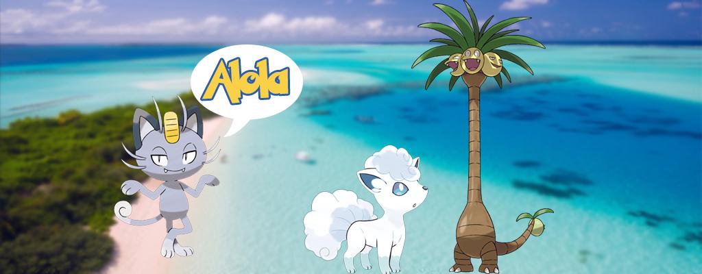 Pokémon GO: Das wissen wir über die Pokémon aus der Alola-Region