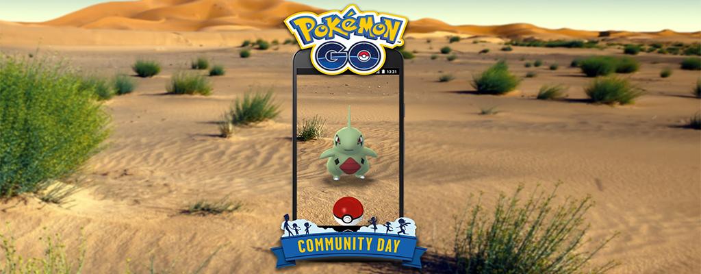 Pokémon GO: Community Day im Juni bringt Larvitar und diese Boni