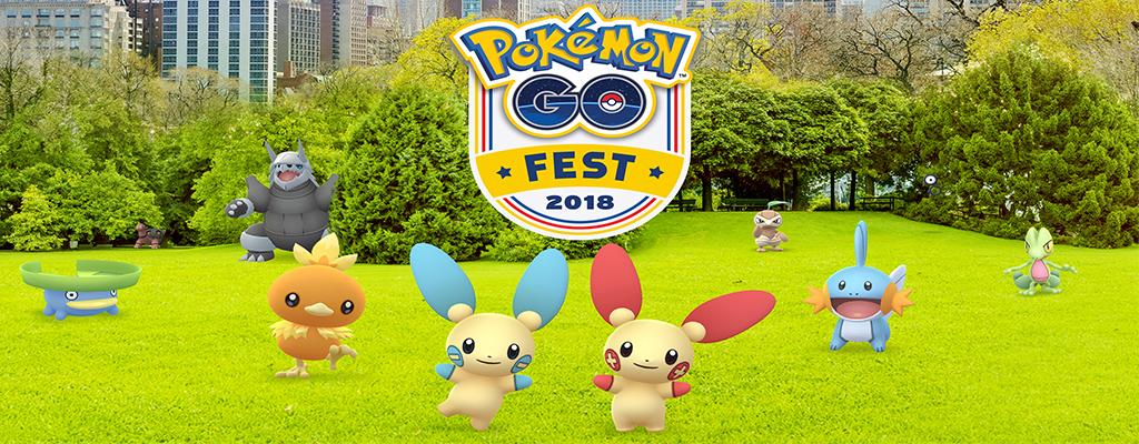 Alles, was Du zum Pokémon GO-Fest wissen musst: Global Challenge gestartet!