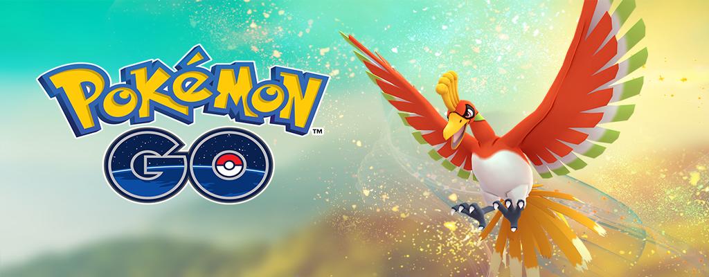In Pokémon GO könnt Ihr wieder Ho-Oh fangen – Sogar als Shiny!