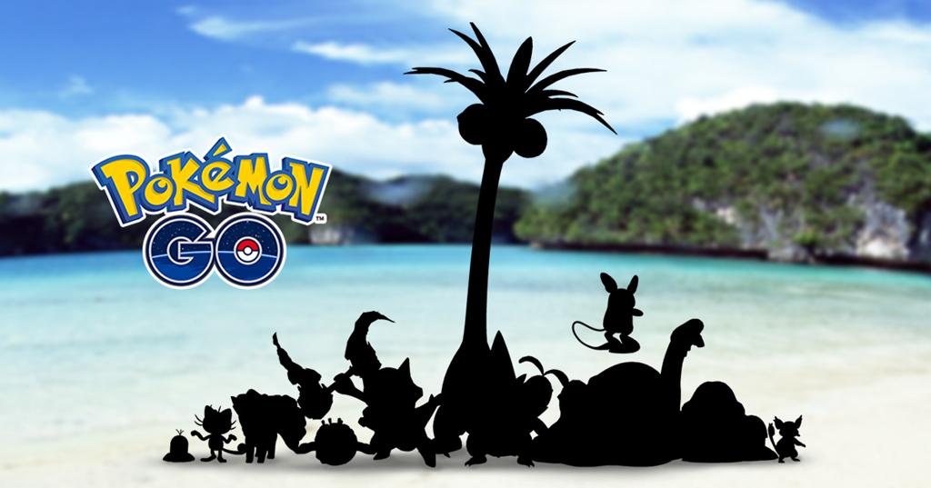 Pokémon GO: Sommer-Event – Monster mit Alola-Formen sind unterwegs!