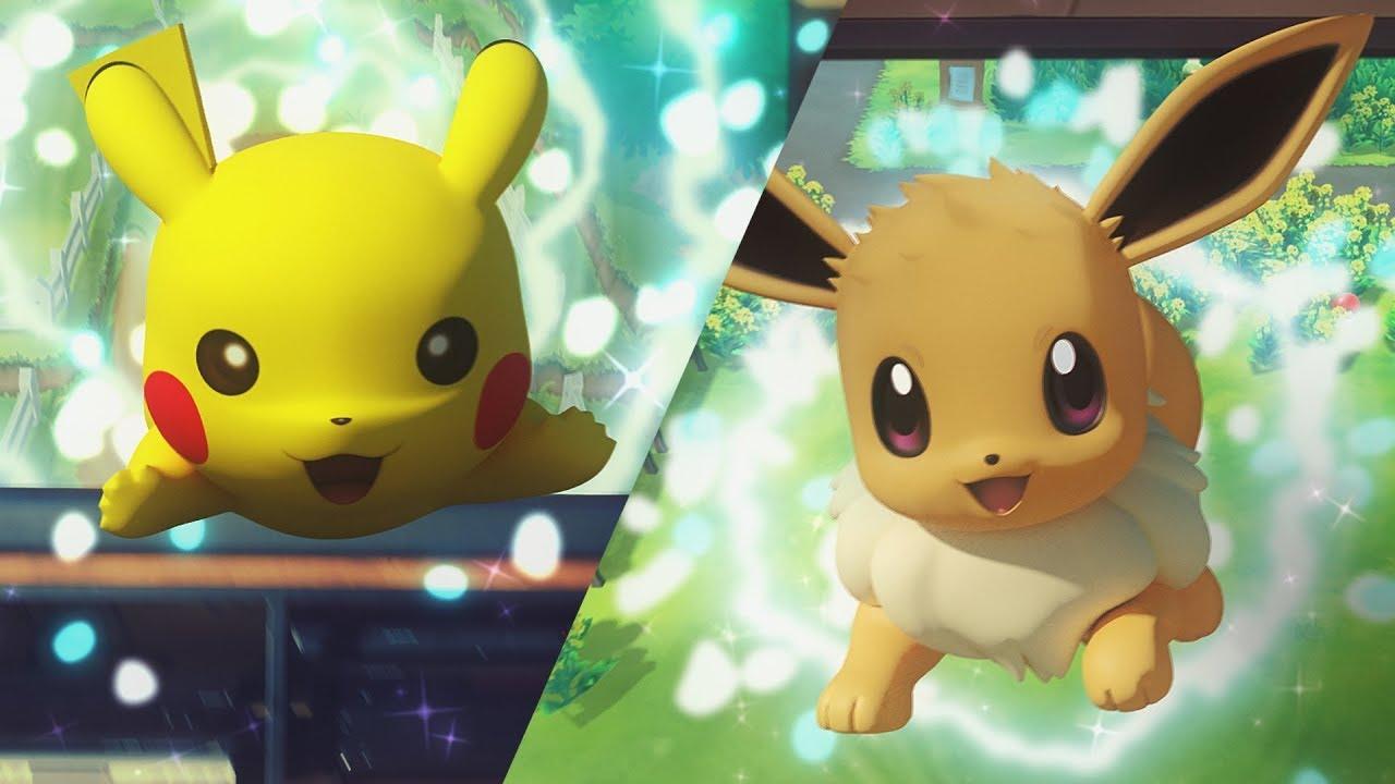 Pokémon Let's Go für die Switch mit Coop-Multiplayer angekündigt!
