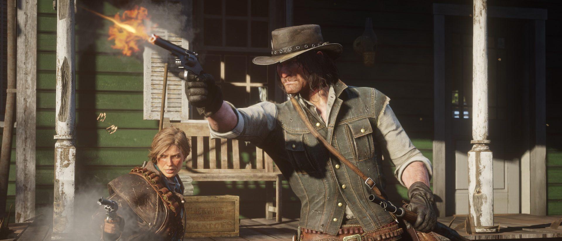 Red Dead Redemption 2 bietet über 50 Waffen, die Ihr pflegen sollt