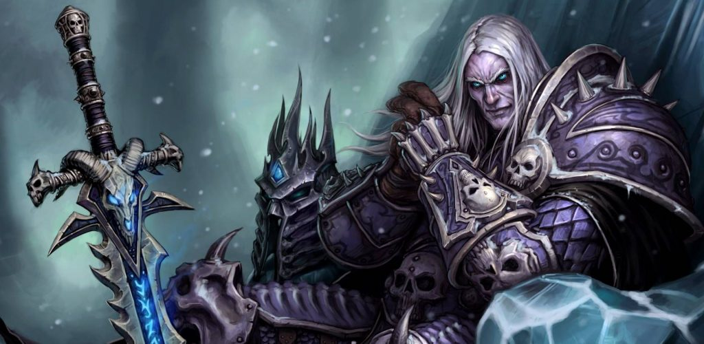 WoW-Arthas-Menethil-Artwork-Lichking titel