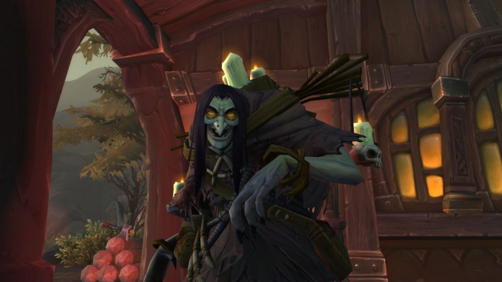 WoW BFA Tiragardesund Witch