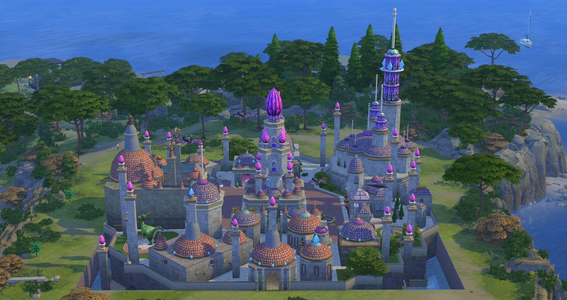 Fan baut WoW-Stadt Dalaran komplett in The Sims 4 nach