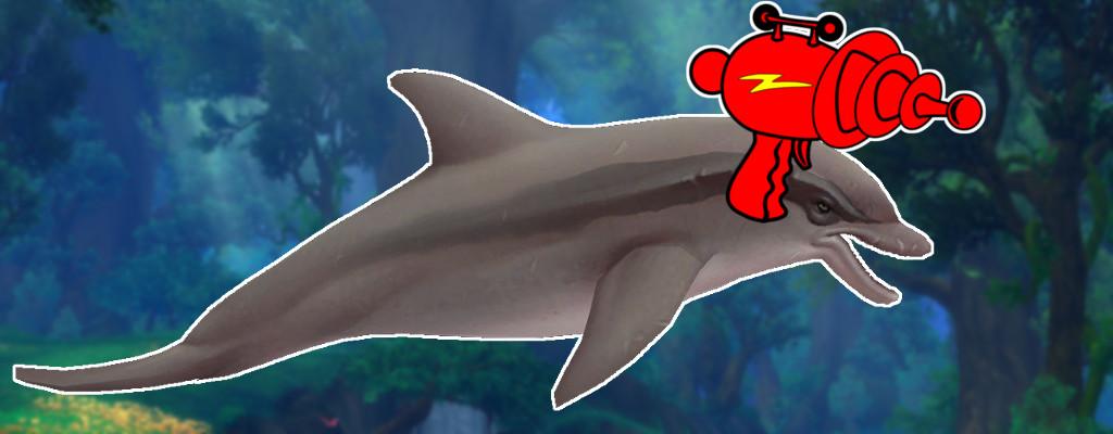 Ja, WoW bekommt wirklich Delfine mit Laserwaffen