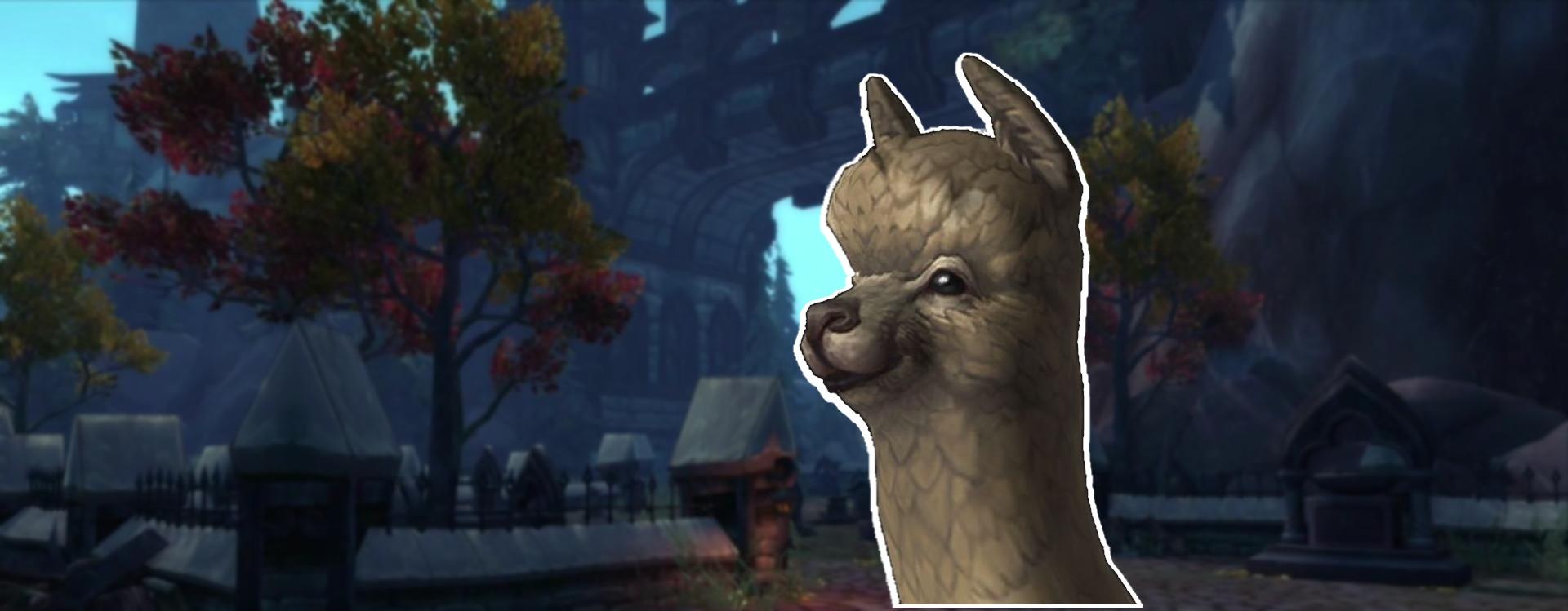 WoW bekommt fluffige Alpakas und mehr neue Modelle!
