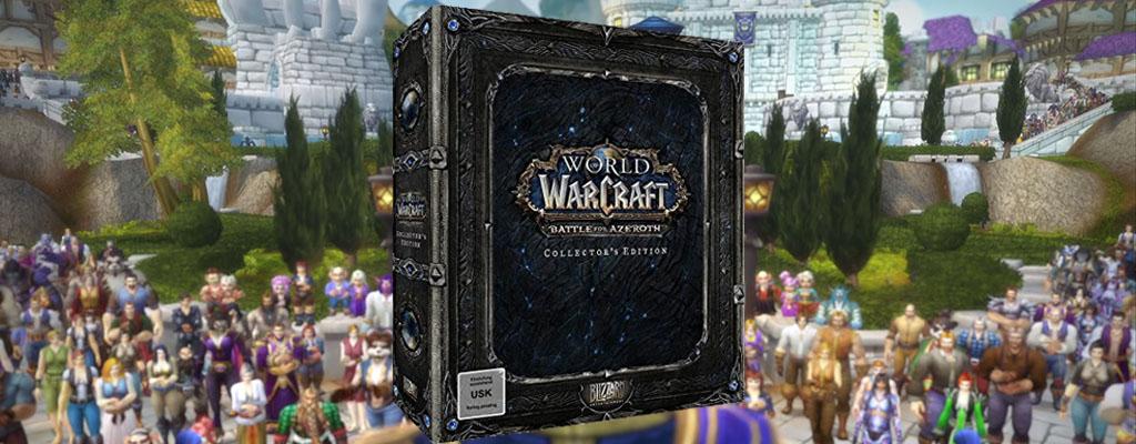 Saturn Weekend-Deal: Battle for Azeroth Collector's Edition zum Bestpreis