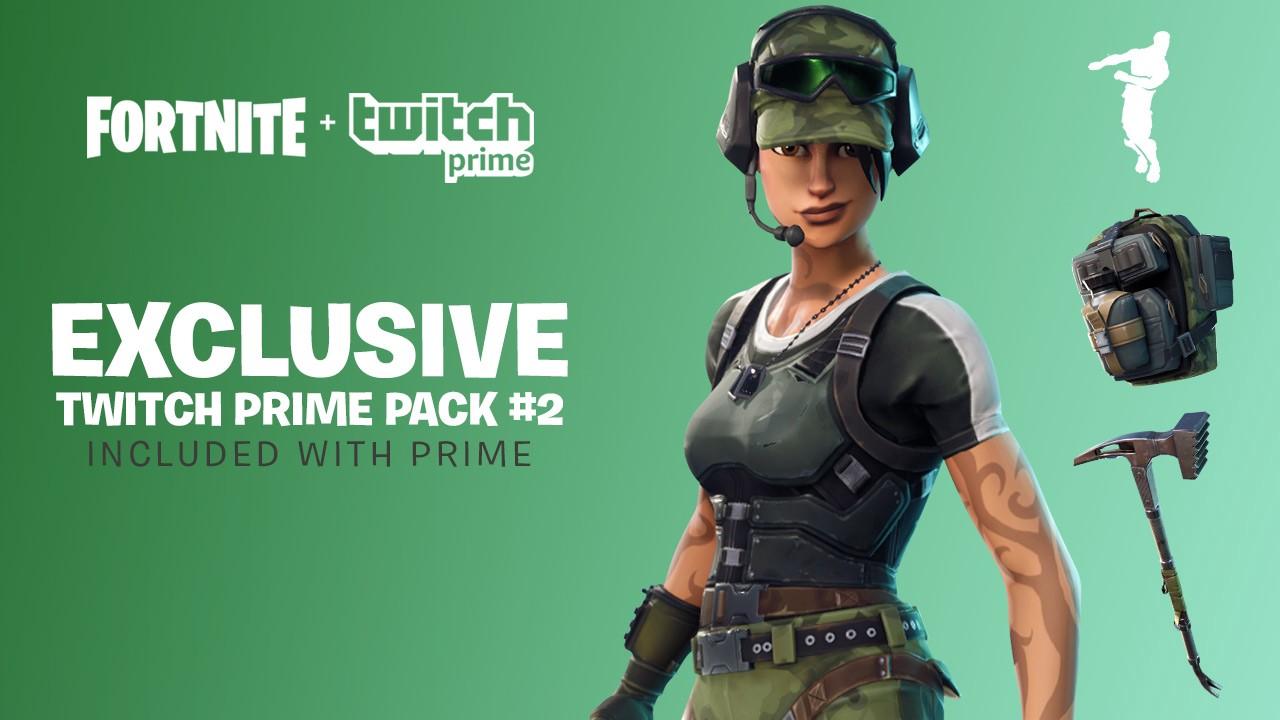 Fortnite: Neues Twitch Prime Loot Pack ist da! So gibt's die Skins