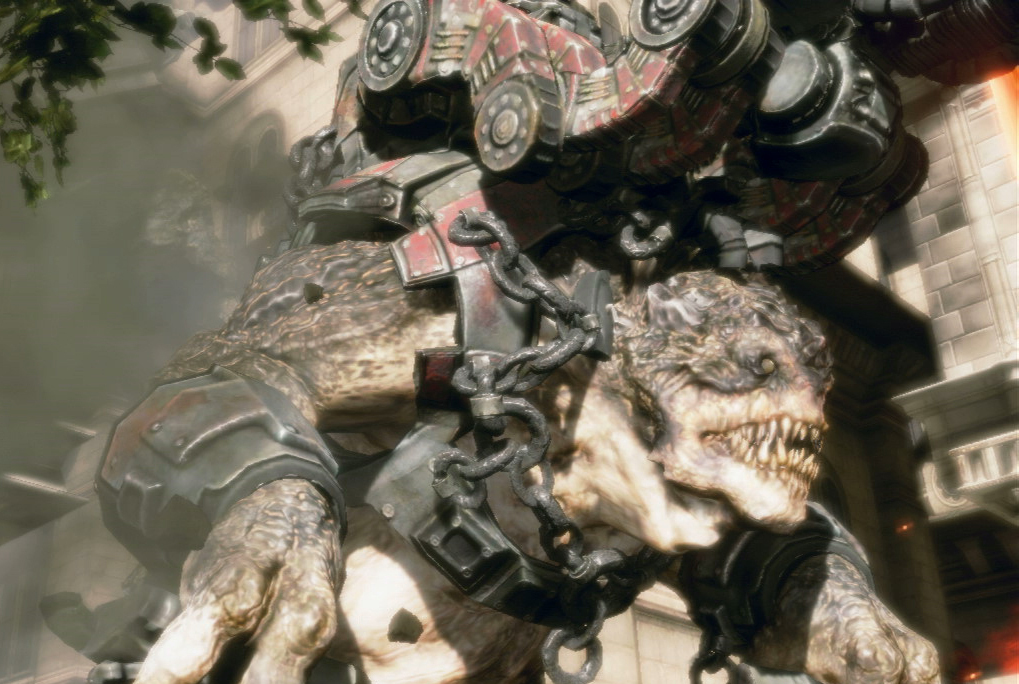 Gears of War will auch bei Monster Hunter World mitmachen
