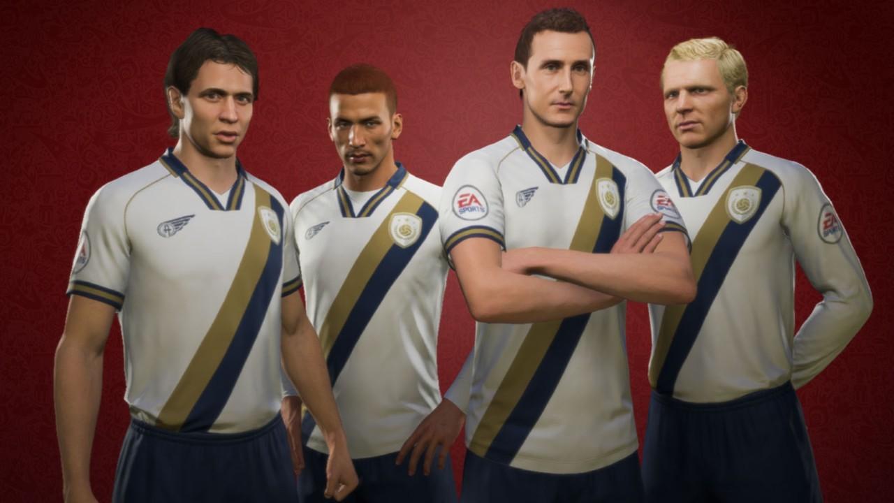 FIFA 18 WM-Update: Trailer zeigt neue Icons, das Menü und Spielmodi