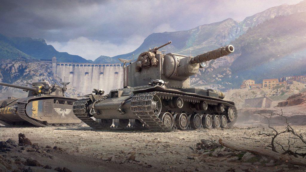 world of tanks -Warhammer 40k
