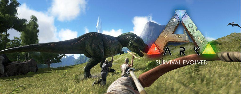 Ark Survival Evolved Titel Banner