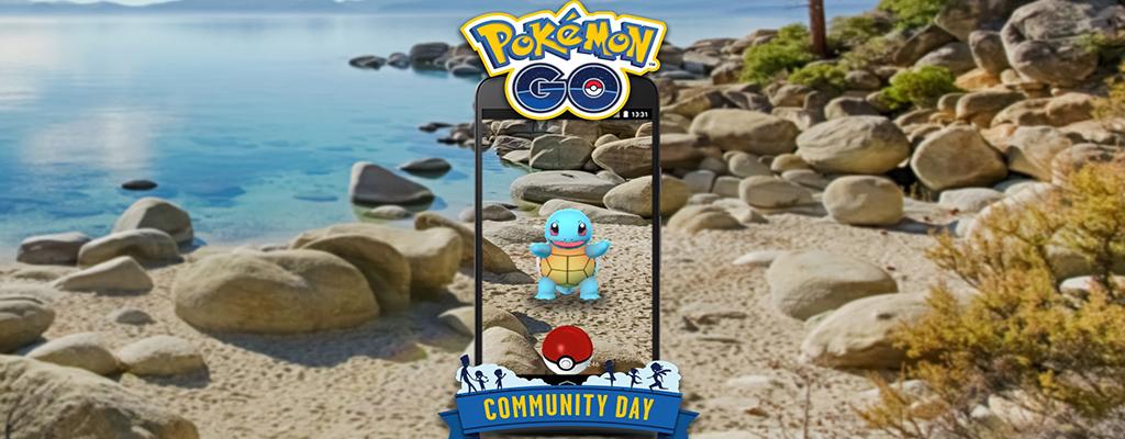 Pokémon GO: Community Day im Juli bringt Schiggy und diese Boni