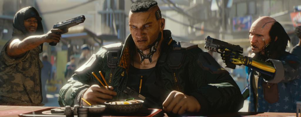 Cyberpunk 2077 setzt sich sofort an die Spitze der Bestseller auf Steam