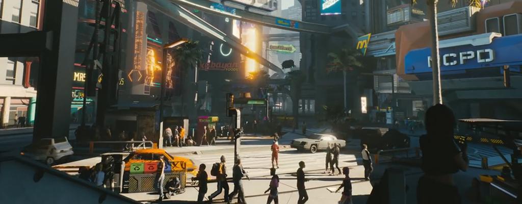 Im E3-Trailer von Cyberpunk 2077 waren Witcher-3-Keys versteckt!
