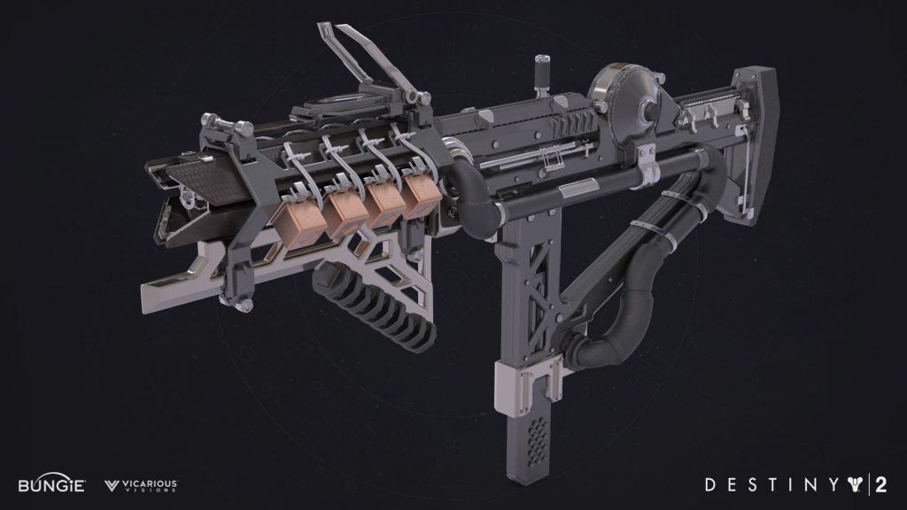 Destiny 2 Warmind IKELOS SMG