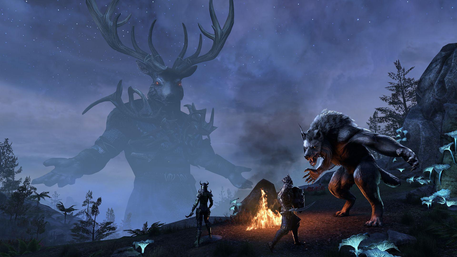 The Elder Scrolls Online: Wolfhunter kommt im August für PC, PS4, Xbox One
