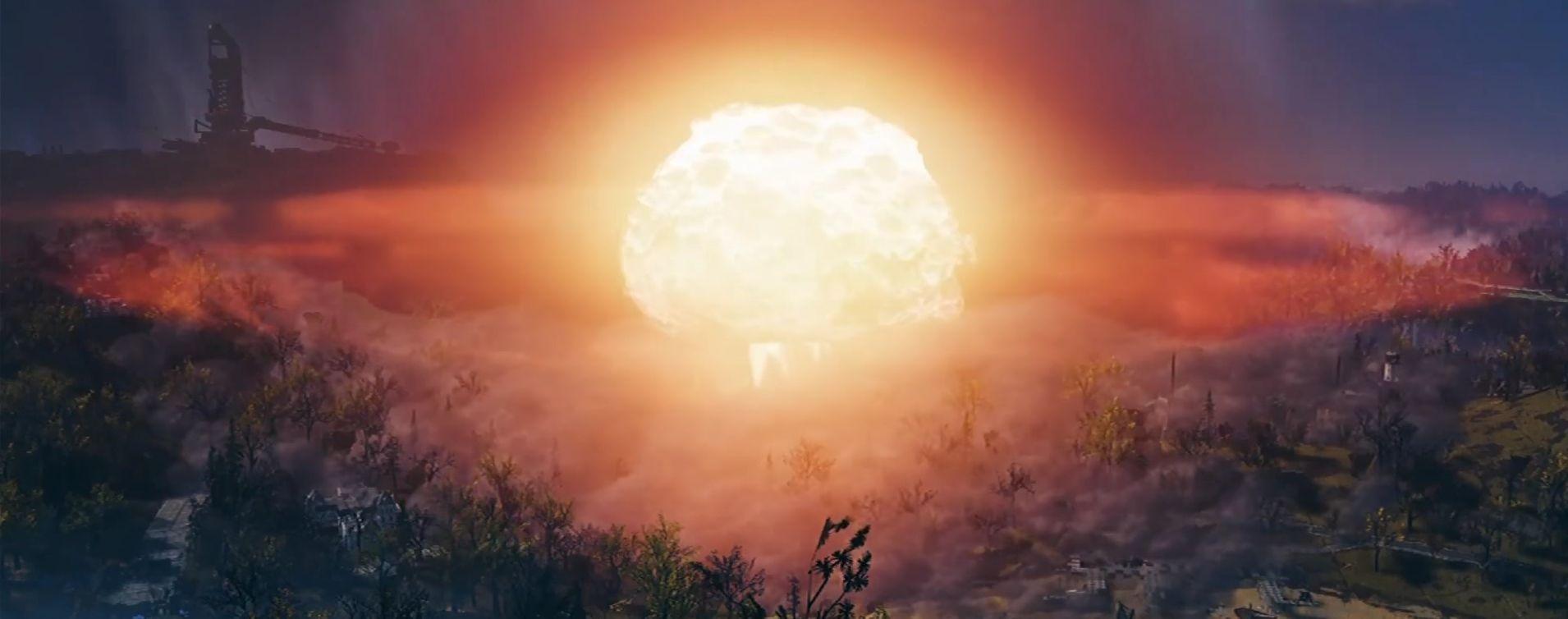 Das passiert, wenn Ihr in Fallout 76 eine Atombombe zündet