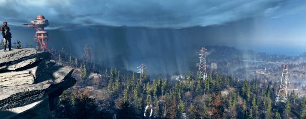 Komplette Map zeigt die riesige Spielwelt von Fallout 76
