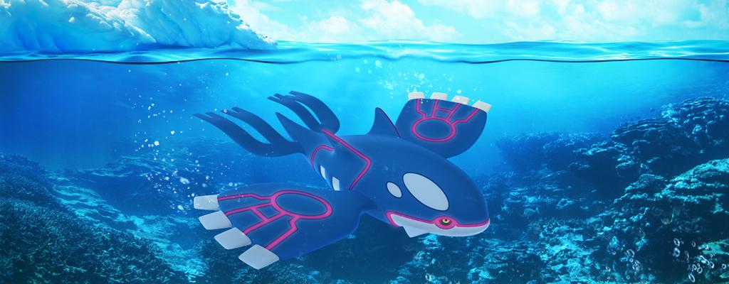 So besiegt ihr Kyogre in Pokémon GO zu dritt – Schon mit Level 25
