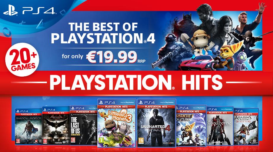 PS Store: PlayStation Hits bietet bald beliebte Spiele-Highlights für 19,99€