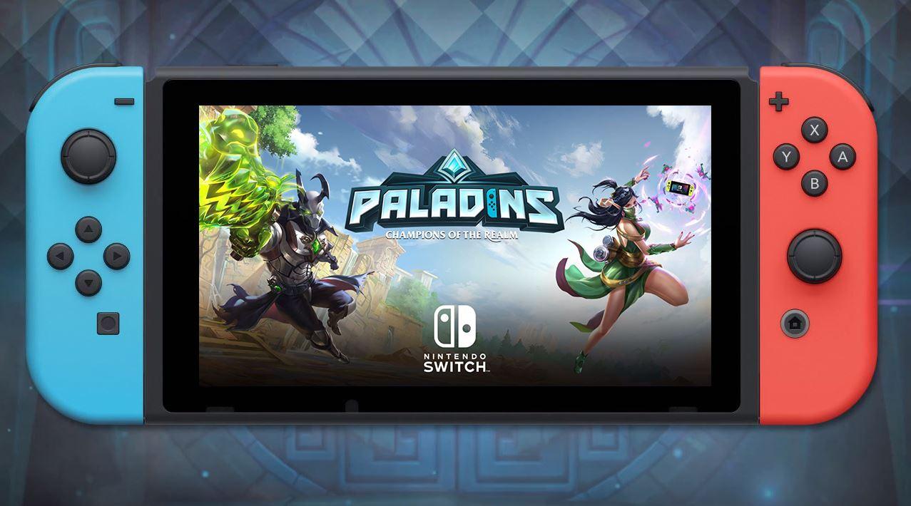 Der Hero-Shooter Paladins ist jetzt auf der Switch – mit 60 FPS und Crossplay