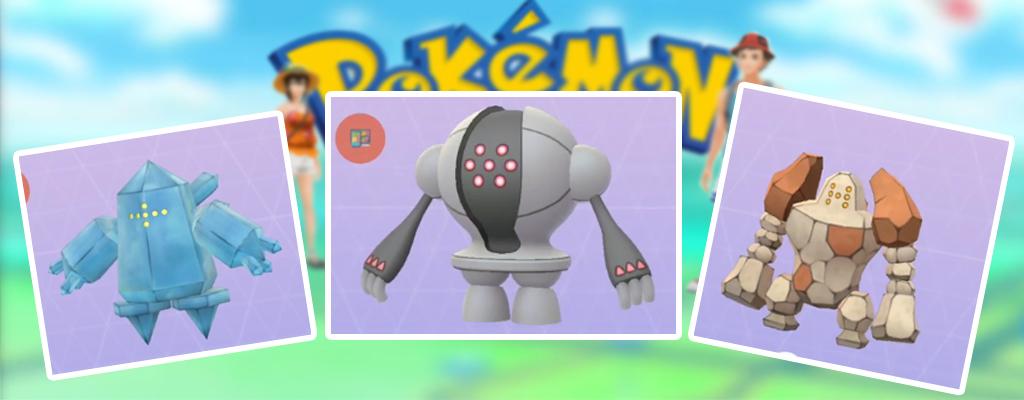 Pokémon GO: Die besten Konter gegen Regirock, Regice und Registeel im Event