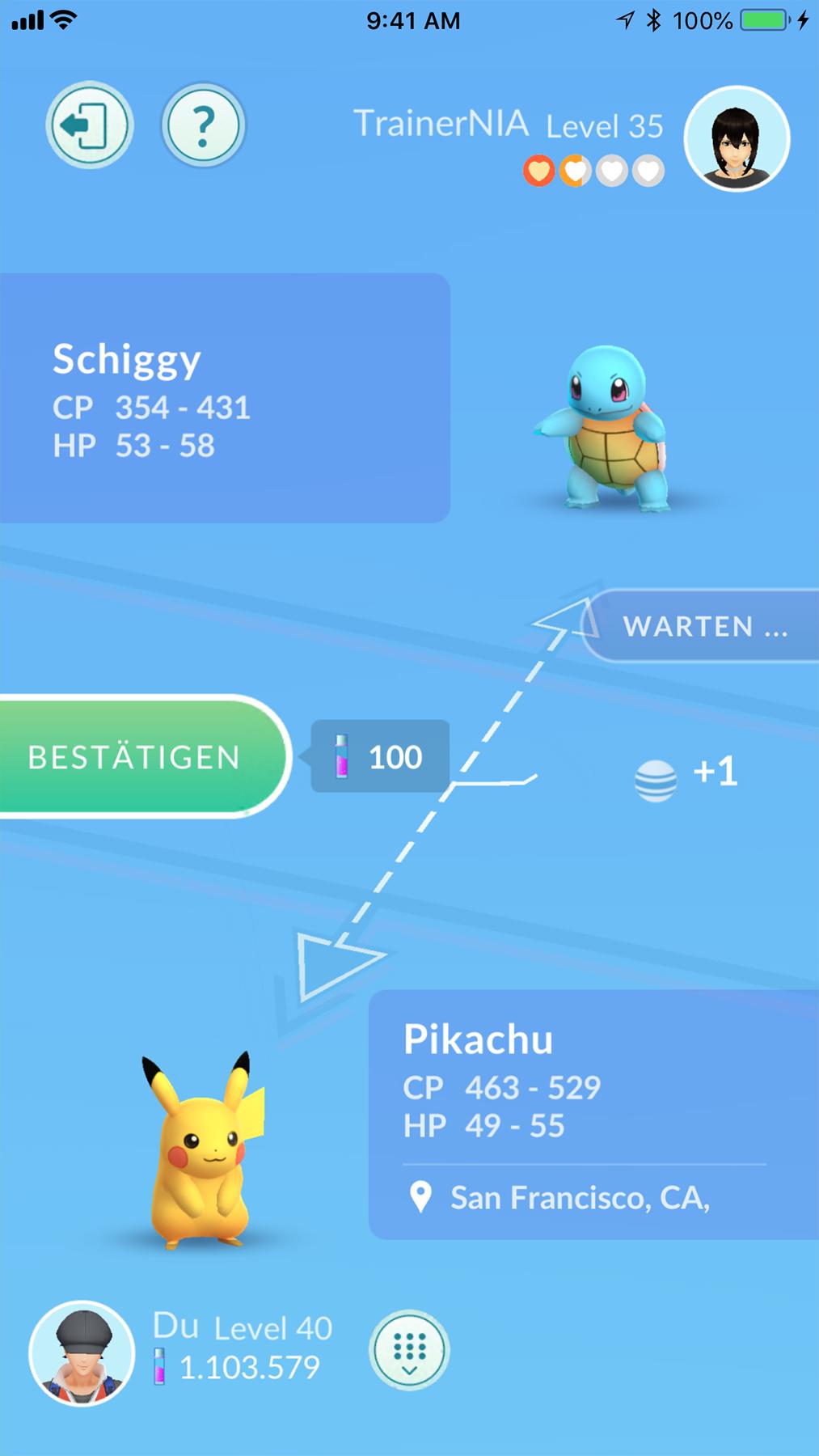 glück freunde pokemon go