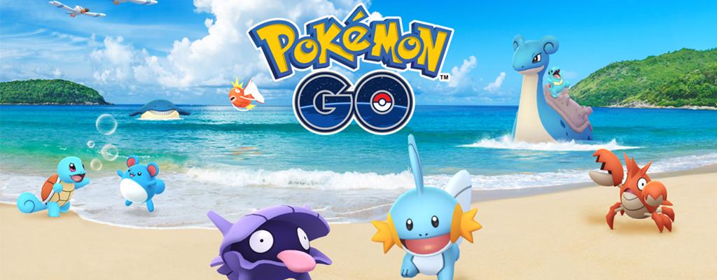 Neuer Ladebildschirm von Pokémon GO – Deutet er ein Wasser-Event an?