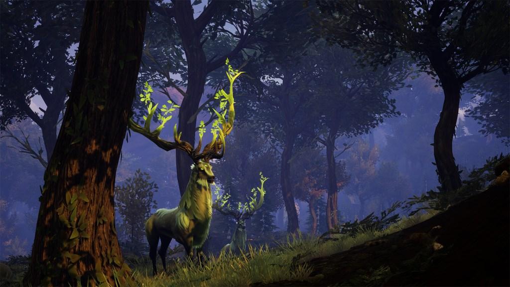 Das Coop-Survival-MMO Rend stellt den finsteren Stagswood vor