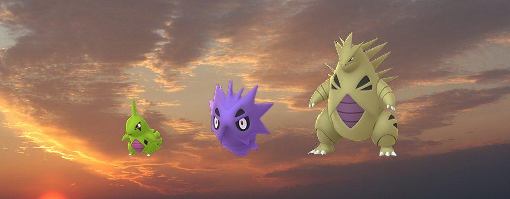 Pokémon GO Shiny Larvitar Familie