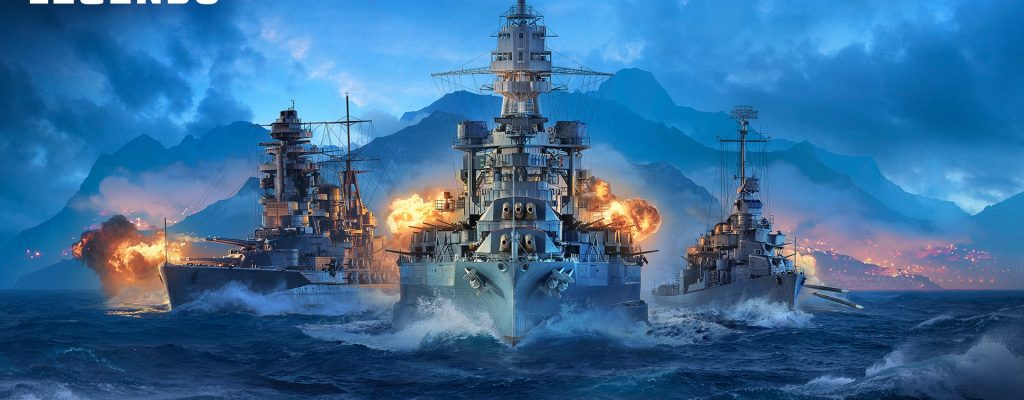 World of Warships: Legends kommt auf Xbox One & PS4 als neues Game