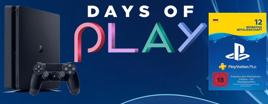 Days of Play Sale – PS Plus, Konsolen, Spiele und Zubehör im Angebot