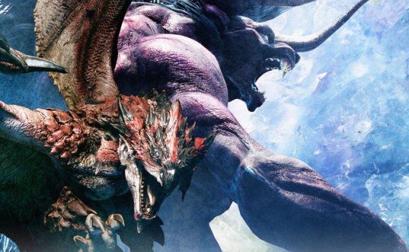 final fantasy xiv monster hunter world rathalos behemoth