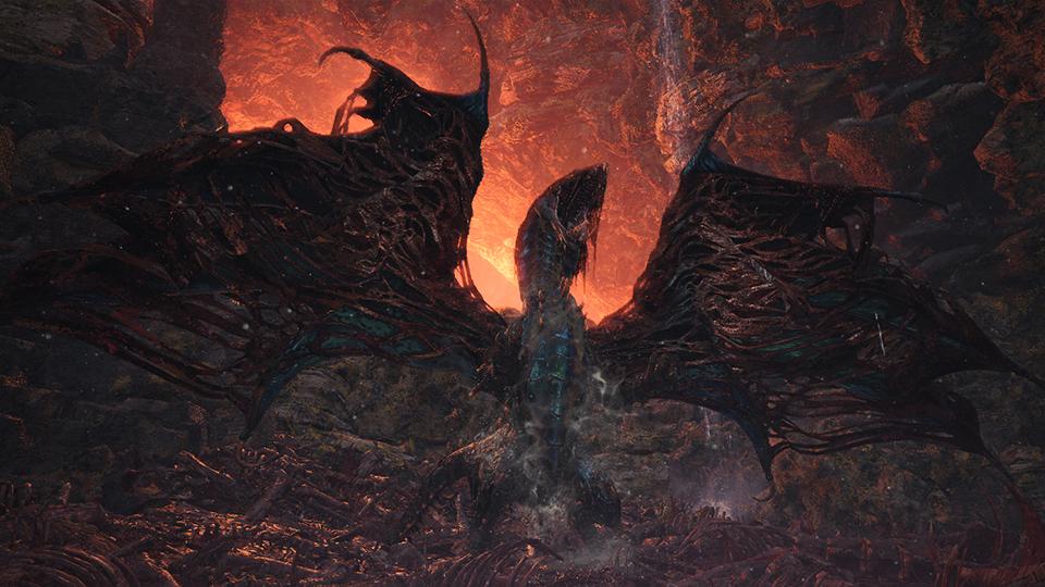 In Monster Hunter World gibt es jetzt den super-starken Vaal Hazak!