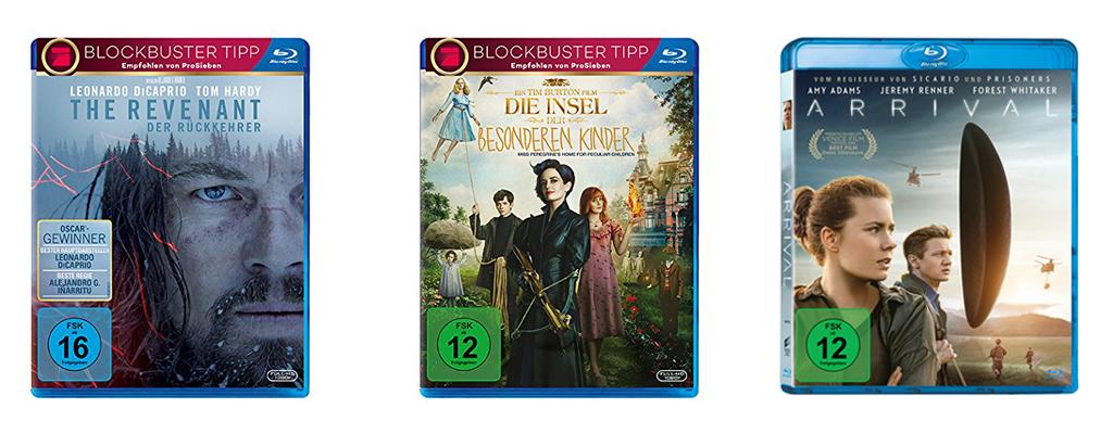 10 Blu Rays für 50 Euro für Euren Filmabend am Prime Day