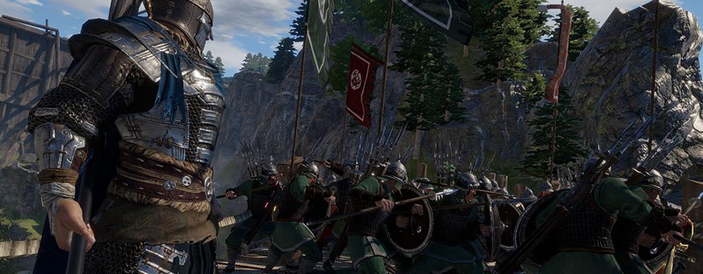 """Wir haben das taktische Action-Spektakel """"Conqueror's Blade"""" getestet"""