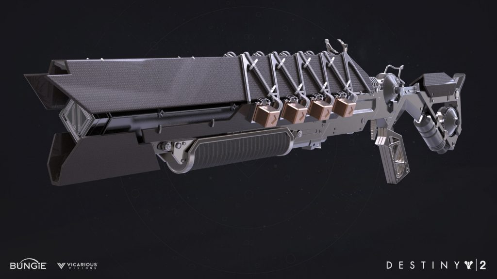 Destiny 2 Forsaken IKELOS Shotgun