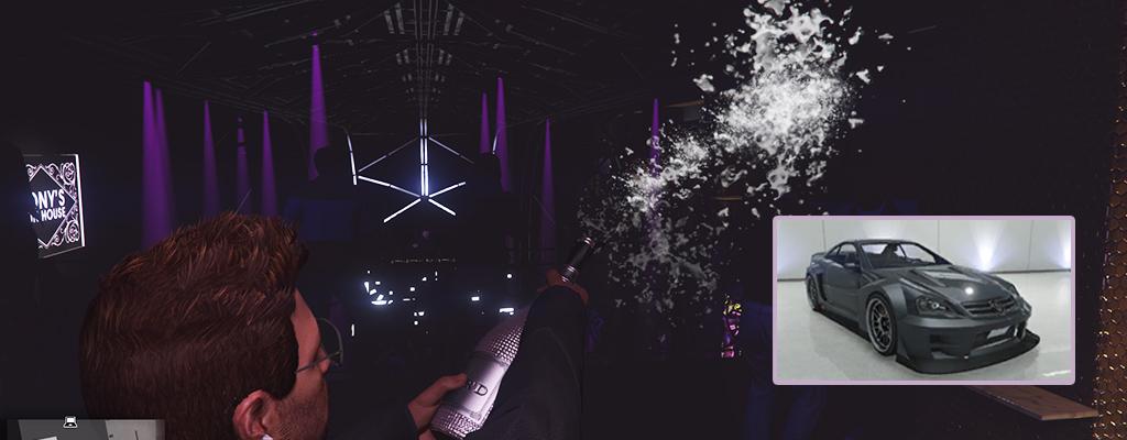 In GTA 5 Online gibt's nun Champagner, der mehr kostet als ein Sportwagen