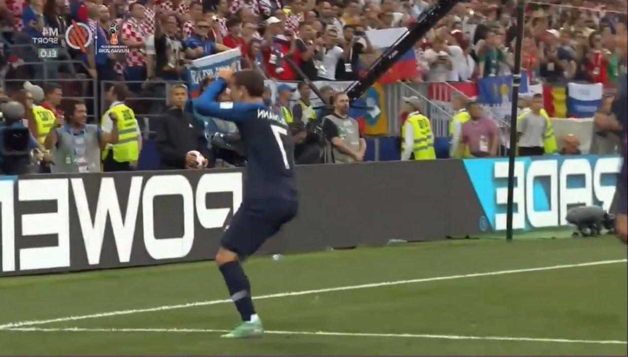 Jup, Griezmann hat im WM-Finale eben den Fortnite-Jubel rausgeholt