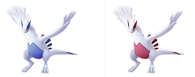 Pokémon GO Lugia Shiny Normal
